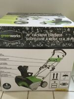 Brand new Greenworks Snowblower for sale for $120 OBO