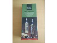 Oil and Vinegar bottels *brand new*