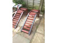 Tractor. Tractor ramps . Car ramps. 4x4 ramps