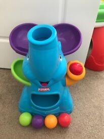Baby toddler playskool bopping elephant
