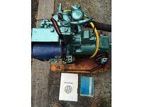 Albin petrol boat engine