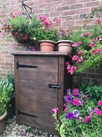 Coal bunker. Shed mini shed