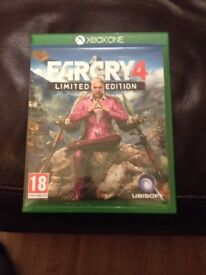 Xbox one game farcry 4