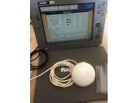 Raymarine C120 Multifunction Navigation Display - Chartplotter - GPS - Sonar - Radar