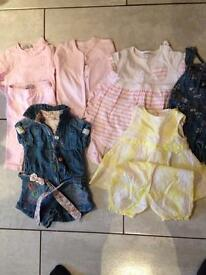 3-6 month baby girl selection
