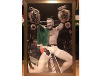 Rare Conor mcgregor ufc picture frame