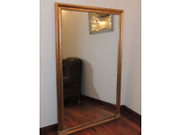 106cm x 167 Mirror Gold (Delivery)