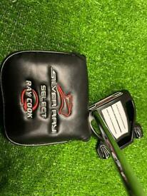 Ray Cook SR595 Triple Track Putter In Black Right Hand 35 Inch OS Grip Brand New 2021 Model