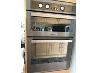 Hotpoint Double Integral Oven/ Grill