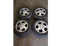 Mercedes van 15 inch alloy wheels reinforced