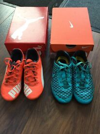 Nike Trainers and Puma football boots size 12