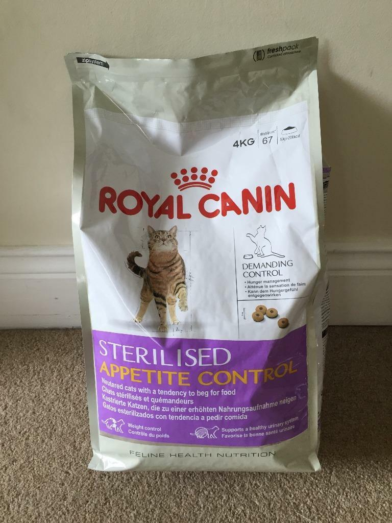 royal canin sterilised appetite control cat food in poole dorset gumtree. Black Bedroom Furniture Sets. Home Design Ideas