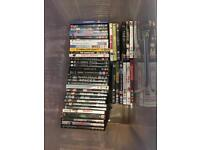 136 DVDs ideal for car boot sale
