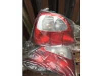 Rover 200/mg zr rear lights