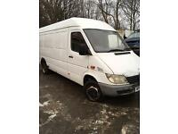 Mercedes sprinter 413 cdi lwb 2002 twin wheel export
