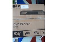 New LG multi region dvd player with scart connection