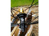 WTB frequency i23 29er Mtb wheels bike, Hope hub's, Santa cruz OEM
