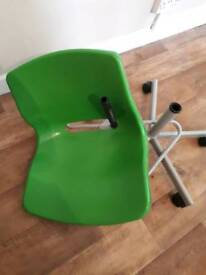 Childs Ikea Pladtic Chair