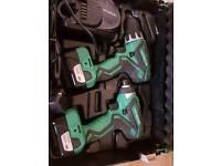 Hitachi combi drill set
