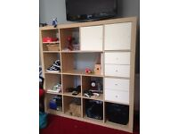 IKEA Wooden Shelving Storage Bookcase Next Home Television TV Stand