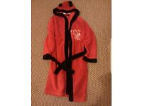 Manchester united red devil dressing gown