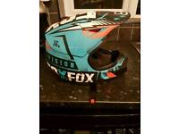 Kids large youth fox vicious helmet