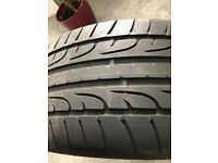 Wheel with tyre DUNLOP - Audi 19inch