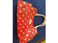 Cath kidston red spot hand bag