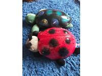 Ladybird/Turtle night lights