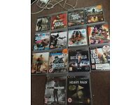 PS3 slim - 15 games + 2 controllers
