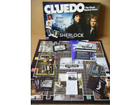 "Cluedo ""Sherlock Edition"". By Hasbro Games 2012. Complete."