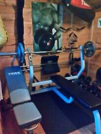 Complete Gym including Shed
