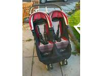 City Mini Double Buggy Stroller with Rain Cover