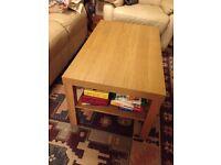 Coffee Table - IKEA, one shelf, living room table