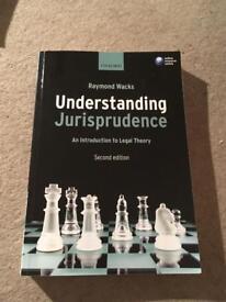 Law book- Understanding Jurisprudence - Raymond Wacks