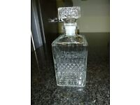 Vintage Square Spirit Decanter