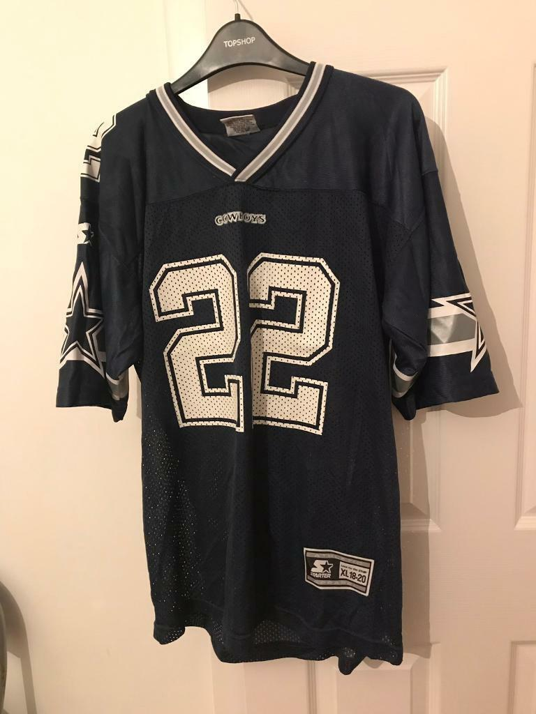 finest selection 1517c 9249f Vintage Dallas Cowboys Emmitt Smith #22 1995 Original Starter Jersey Size  18-20 XL | in Hamilton, South Lanarkshire | Gumtree