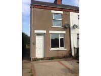 2 bedroom house with off road parking in Alfreton. £500 pcm