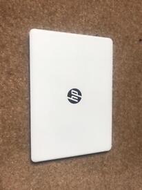 HP Laptop in White