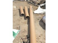6 inch/ 150mm underground drainage pipes
