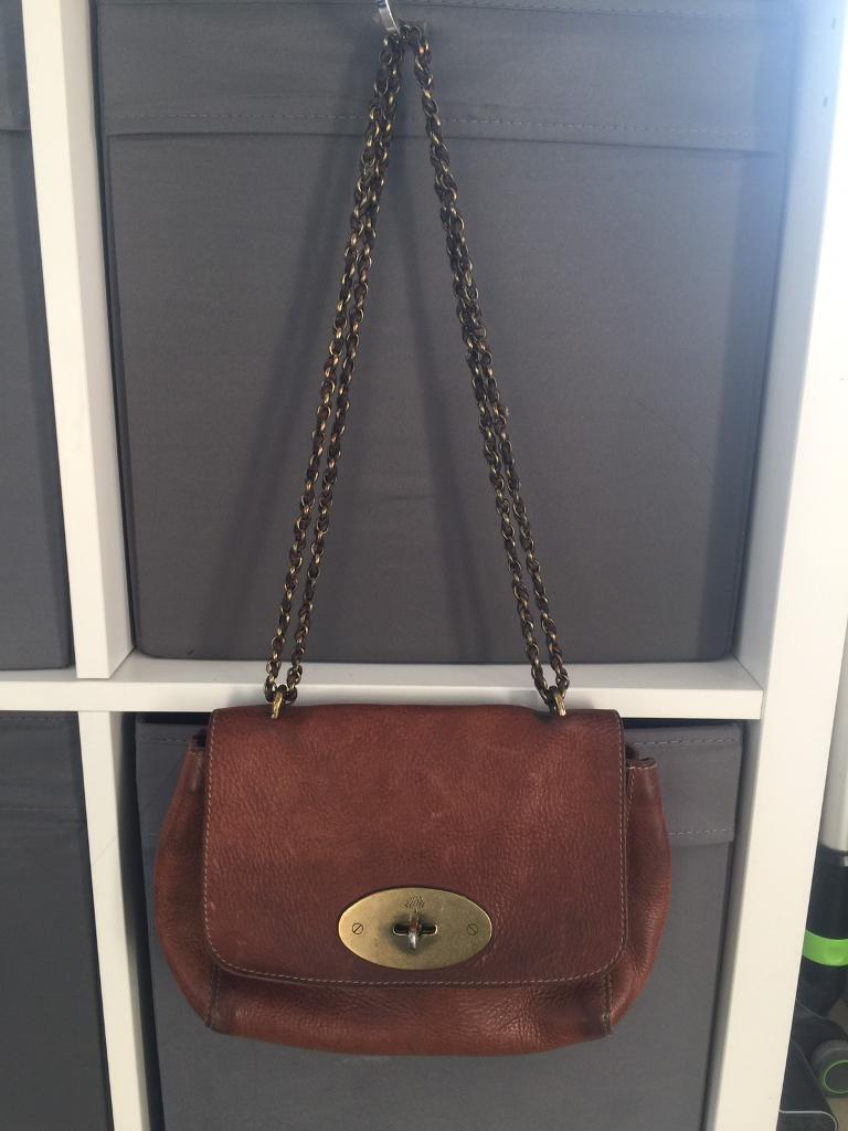 9aab86eccbbb Genuine mulberry veg tanned regular lily Crossbody bag handbag