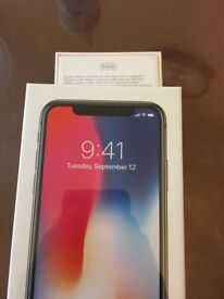 IPHONE X- 64gb-READY TO COLLECT!