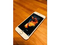 I Phone 6s in gold with free cases