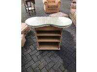 Glass top dressing table, perfect for upscale project