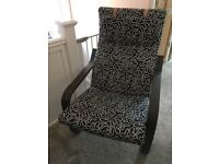 IKEA Poang Chair Armchair inc Headrest
