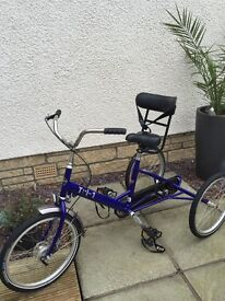 Special needs trike , excellent condition £250