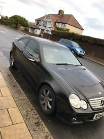 Auto Mercedes C class coupe, £1,495 Bargainn!!!