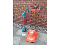 Flymo Electric Lawnmower & Bosch Easytrim Strimmer #FREE LOCAL DELIVERY#