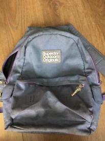 Superdry backpack £10