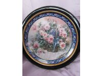 W F George 'Roses' plate.